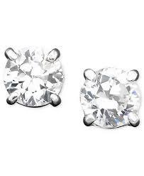 zirconia earrings ralph cubic zirconia stud earrings jewelry