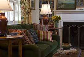 dc metro sage green sofa family room traditional with leather