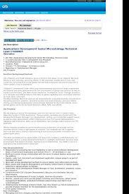 applications development senior microstrategy technical lead job