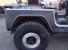 jeep body armor yj corner armor 6 inch flare full length 87 95 wrangler yj tnt
