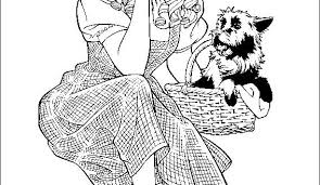 Wizard Of Oz Coloring Sheets Coloring Page We Are All Magical Wizard Of Oz Coloring Pages