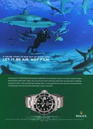 rolex magazine ads david doubilet rolex watch company 2006 ad magazine advertisement