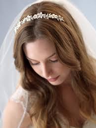 wedding headbands penelope pearl headband shop wedding headpieces usabride