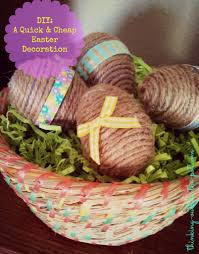 easter decorations to make for the home how to make quick cheap last minute easter decorations blogher