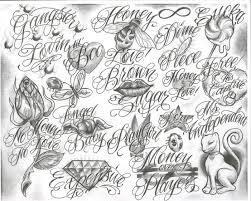 6 tattoo script very tattoo