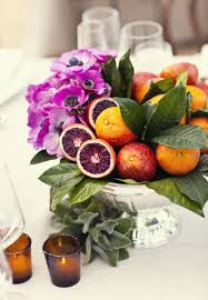 fruit centerpiece 25 wedding centerpieces with fruit and other fresh ingredients