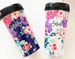 personalized travel mug etsy