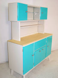 reworked vintage retro 1950s kitchen cabinet sideboards