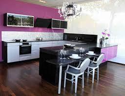 purple kitchen ideas unique purple black and white kitchen taste