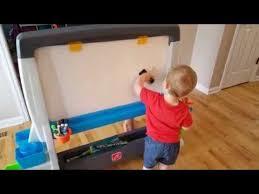 Step 2 Desk Easel Kid Tested Jumbo Art Easel Video Review Youtube