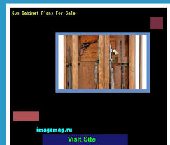 Built In Gun Cabinet Plans Best 25 Gun Cabinet Plans Ideas On Pinterest Gun Cabinets Wood