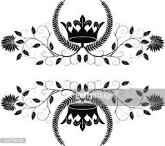 crown ornament vector getty images