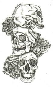 family skulls tattoo design tattoo designs pinterest tattoo