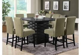 coaster counter height dining set the mansion furniture