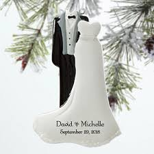 personalized wedding christmas ornaments personalized wedding christmas ornaments mr mrs