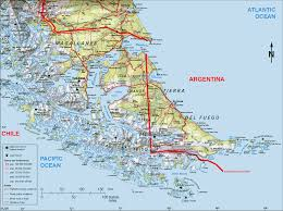 Patagonia South America Map full puma safari in torres del paine chilean patagonia