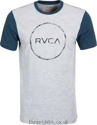short sleeve t shirts rvca circle sketch t shirt athletic heather