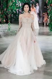flowing wedding dresses wedding dresses photos magnolia by galia lahav inside weddings