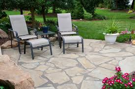 Backyard Stone Patio Designs by Natural Stone Patio Ideas Table Rock Company