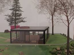 Glass House Floor Plan by Philip Johnson Glass House Floor Plan House Plan