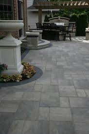 Backyard Patio Stones Best 25 Stone Patio Designs Ideas On Pinterest Patio Flagstone