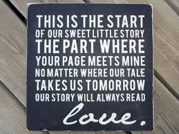 wedding album quotes quotes about wedding typography wall our sweet