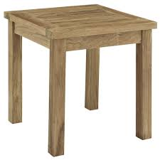Teak Patio Outdoor Furniture by Marina Outdoor Patio Teak Side Table Teak Patio Side Table