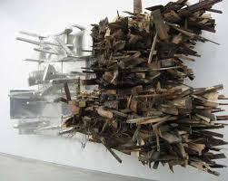 scrap wood sculpture chaotic wood scrap sculptures leonardo drew
