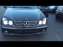 mercedes aftermarket headlights 2002 mercedes c32 with halo headlights