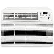 Window Ac With Heater Shop Ge 11600 Btu 550 Sq Ft 115 Volt Window Air Conditioner Energy