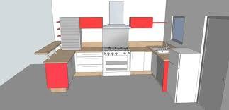 cuisine plan 3d dessin cuisine 3d espace petit dejeuner cuisines inovconception