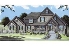 Decorative Dormers Country Style Pre Drawn House Plans