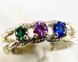 grandmothers rings multistone rings etsy
