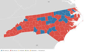 2012 Presidential Election Map by North Carolina Election Results 2016 Live Maps Polling Analysis