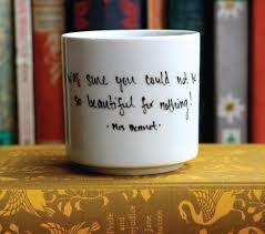 Nice Coffee Mugs Sarah Fritzler Diy Literary Quote Mugs