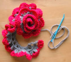 crochet flower headband flower headband cult of crochet