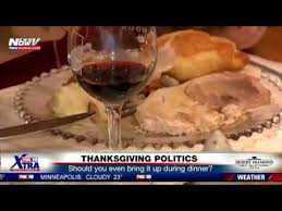 thanksgiving nightmare discuss politics at the dinner