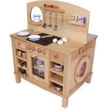kinder spiel küche 4 seitg bespielbare kinder küche holz spielzeug peitz