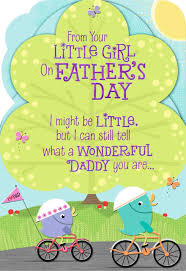 daddy love from your little father u0027s day card greeting