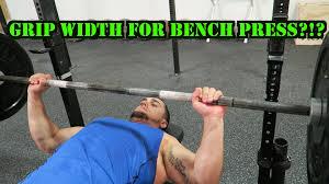 powerlifting bench press grip width determining your bench press grip width youtube