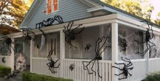 Pottery Barn Outdoor Halloween Decorations by Halloween Decorations Spider Web Diy Easy Halloween Decorations