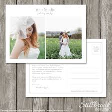 marketing template flyer card for photographers wedding