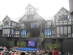 elizabethan stage before merry of picture of