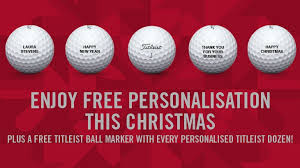 2016 enjoy free personalisation this christmas titleist