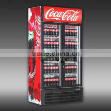 coca cola fridge glass door 200 1600 liters single glass door display commercial coke fridge