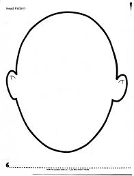 face outline template free download clip art free clip art