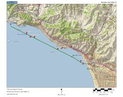 Pismo Beach Map Fullbean Charts Use For Trip Planning Not For Navigation