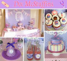 my daughters happy healthy doc mcstuffins birthday party foot