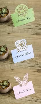 21 unique wedding cards place cards ideas