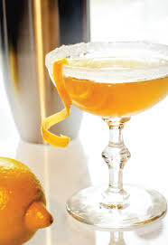 cocktail of the month the sidecar u2014 today u0027s nest